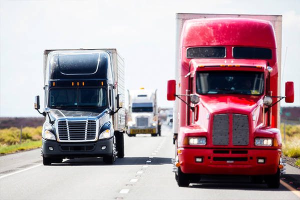 We help those injured in trucking accidents.