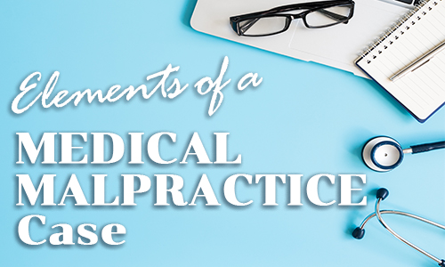 Read this Medical Malpractice article.