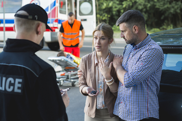 It is important to call police if you are involved in an automobile accident.